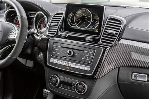 mercedes amg gle coupe suv front interior display
