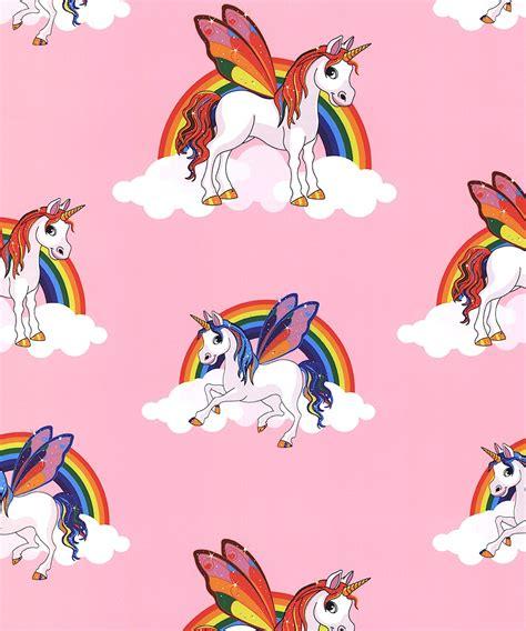 DecorSave Debona Unicorn Pink Wallpaper 6303