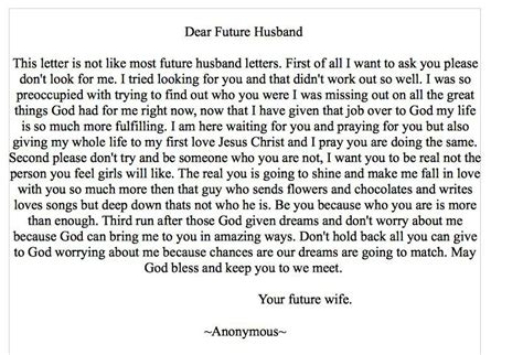 dear future husband letters future husband quotes quotesgram 21316   9ccfd8dcff08b40a3e1aedbbcfdfa0ba