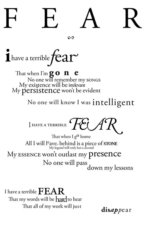 poem typography and layout on pinterest