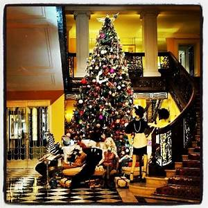 Christmas cheer at Claridge's!