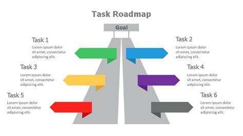 roadmap powerpoint templates powerslides