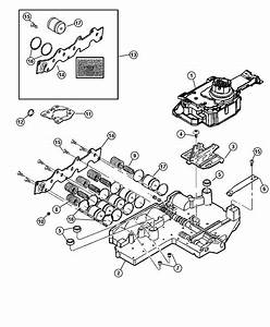 2002 Jeep Liberty Solenoid  Transmission