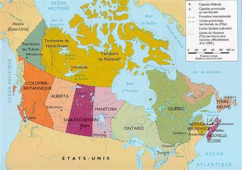 Carte Du Canada Avec Villes by Carte Du Canada Cartes Des Villes Du Relief