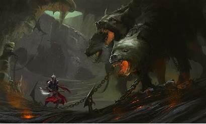 Greek Mythology Wallpapers Hades God Cerberus Underworld