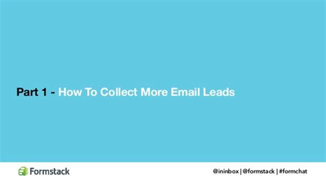 how to collect and convert your email leads