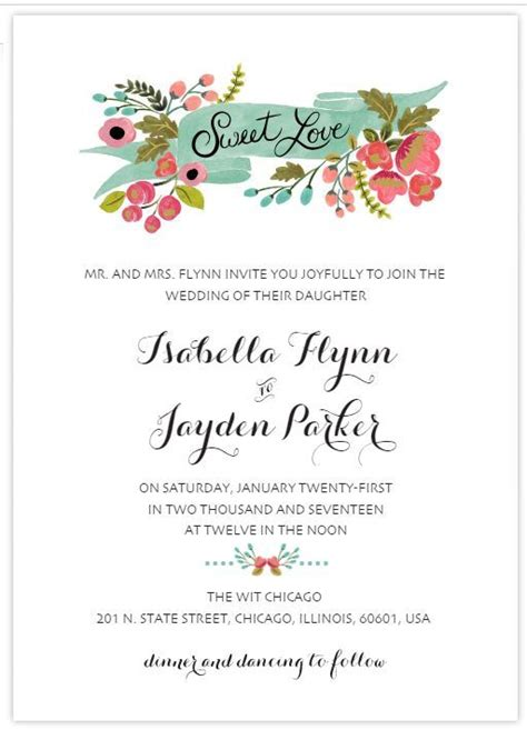 top places  find  wedding invitation templates