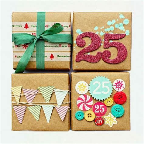wrapping ideas for christmas presents craftionary