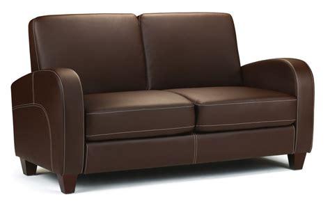 chestnut leather sofa vivo 2 seater sofa in chestnut faux leather julian bowen 2156