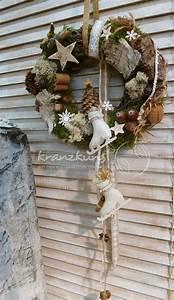 Weihnachtskranz Für Tür : naturkranz winterm rchen nostalgischer weihnachtskranz t rkranz f r shabby fan s www ~ Sanjose-hotels-ca.com Haus und Dekorationen