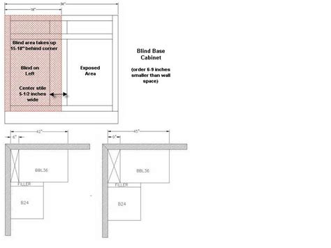blind corner base cabinet sizes bl 42 kitchen corner base cabinet with blind 42 quot w x 34 1