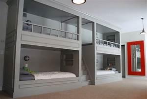 Beds Built Into Walls - Home Design
