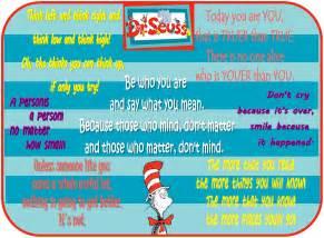 Dr. Seuss Birthday Quote