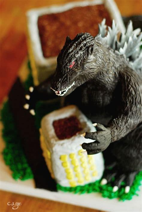 godzilla cake cakecentralcom