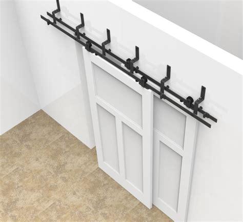 aliexpress buy 6 6 6ft bypass sliding barn wood door