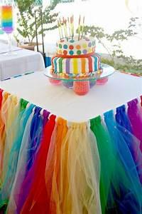 diy rainbow decorating ideas for