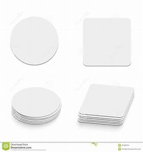 print stock vector image 49406242 With coaster size template