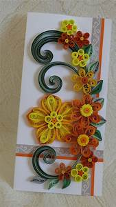 Quilling Art Greeting Card -Birthday - Wedding - Mother's ...