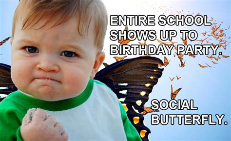 Kids Birthday Meme - four ways to give your kid a great birthday at hmns beyondbones