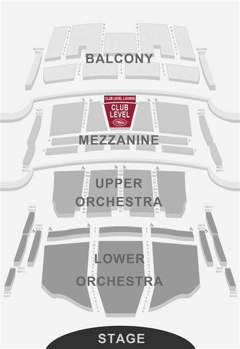 broward center   performing arts seating charts