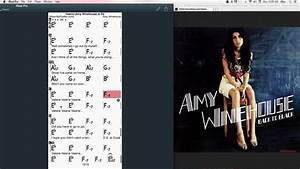 Valerie  Chords At Mypartitur - Amy Winehouse