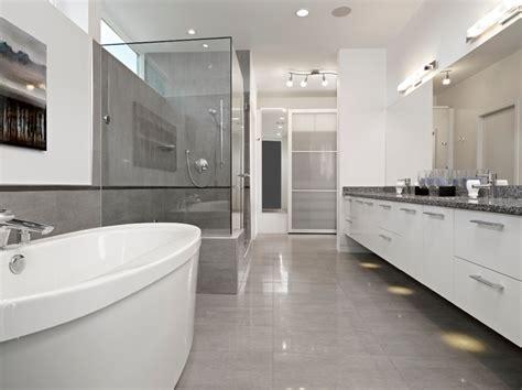 Modern Bathroom Edmonton ensuite modern bathroom edmonton by habitat studio