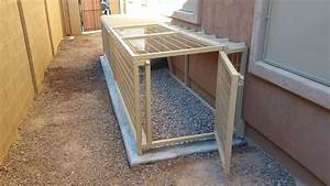 Az custom made pet kennels kennel installation arizona for Dog proof material