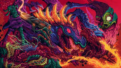 Trippy Anime Wallpaper - wallpaper psychedelic trippy colorful creature