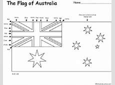 Australia's Flag ZoomSchoolcom