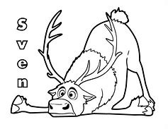 HD wallpapers sven reindeer coloring page www.3android8wall.gq