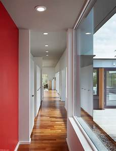 Deloia, Private, Home, With, Glass, Corridor, Connecting, The, Courtyard, Salmela, -, Download
