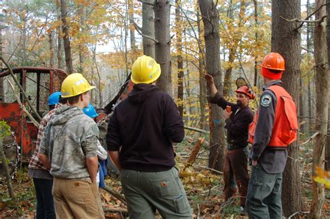 Students Learn About Forestry, Jobs And Conservation
