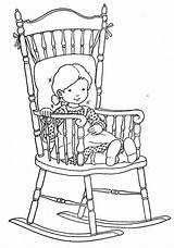 Coloring Chair Rocking Colorear Dibujos Adult Jones Quiet Mecedoras Colouring Bonnie Hh Picasa Picasaweb Template Sheets Stamps sketch template