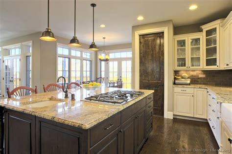 kitchen remodelling ideas pictures of kitchens traditional two tone kitchen