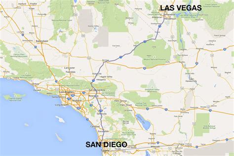 Gardena Ca To Las Vegas by San Diego To Las Vegas 4 Ways To Travel