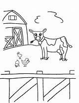 Coloring Farm Worksheets K5 sketch template