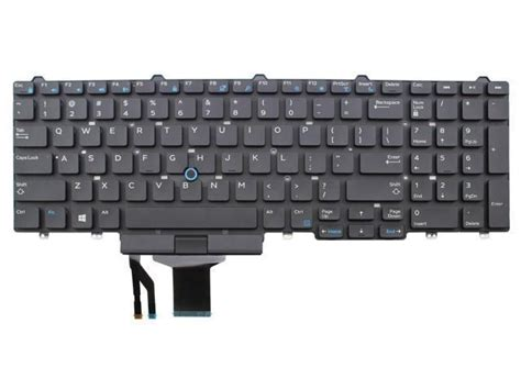 Laptop Keyboard For Dell Latitude Layout