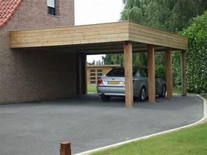Pergola Adossée 4x4 : carport bois 4x4 ~ Melissatoandfro.com Idées de Décoration