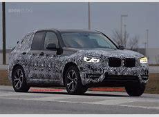Spy Photos 2018 BMW X3 shows new wheel design