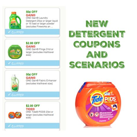 58175 Soap Coupons by New Laundry Detergent Coupons Scenarios