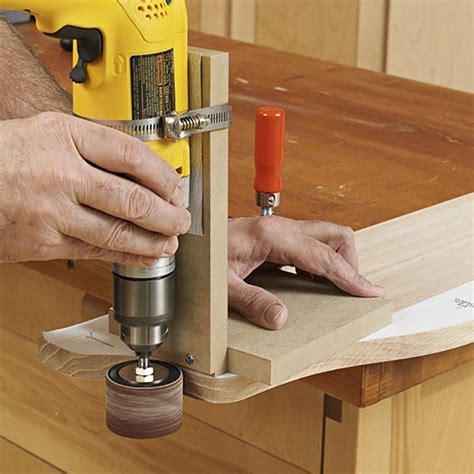 portable drum sander jig woodworking plan  wood magazine