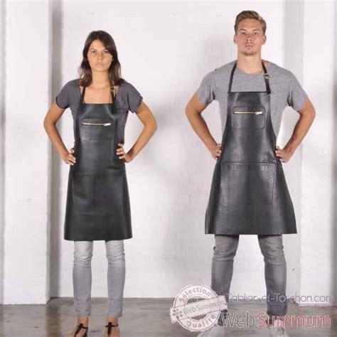 tabliers blouse et torchons de cuisine tablier en cuir sur tablier et torchon