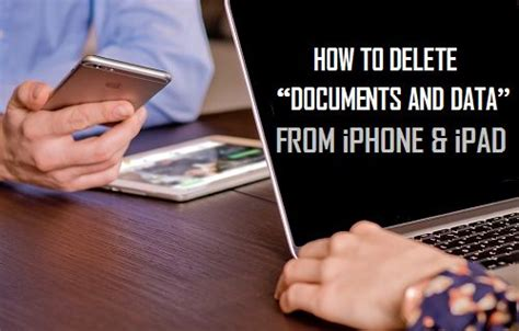 how to delete data from iphone how to delete quot documents and data quot on iphone and