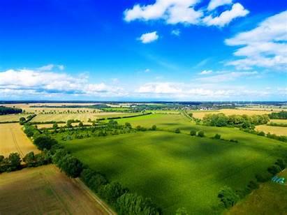 Sawah Pertanian Pemandangan Bukit Lahan Atas Tanah
