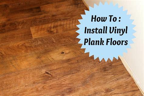 how to lay vinyl wood flooring how to install vinyl plank flooring joyfully home