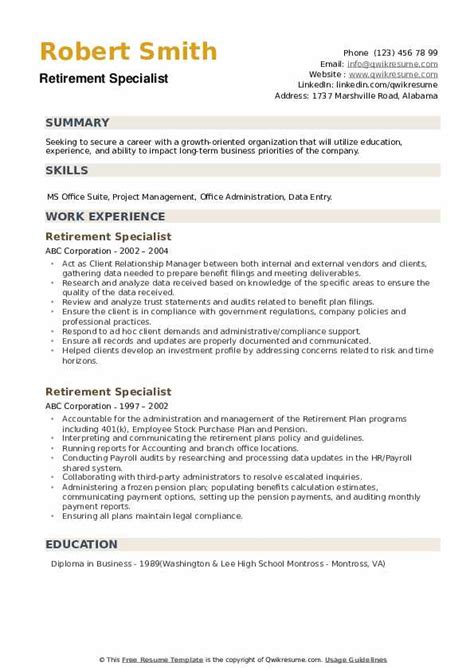 Experienced in working with all. Retiree Office Resume / Self Resume : Summary of dental ...
