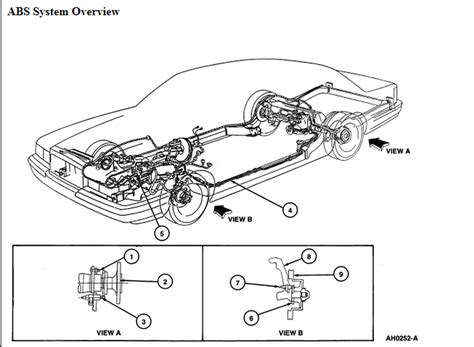 Need Brake Line Diagram For Grand Marquis