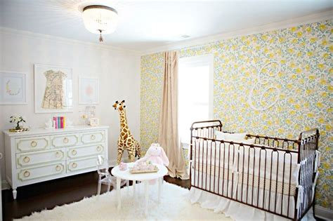 papier peint chambre bébé fille chambre bébé fille 50 idées de déco et aménagement