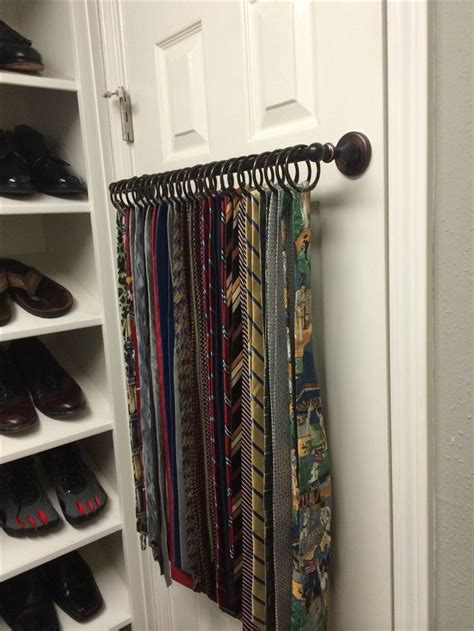 25 best ideas about tie rack on tie hanger