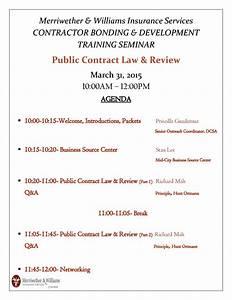 Public Contract Law  U0026 Review Workshop
